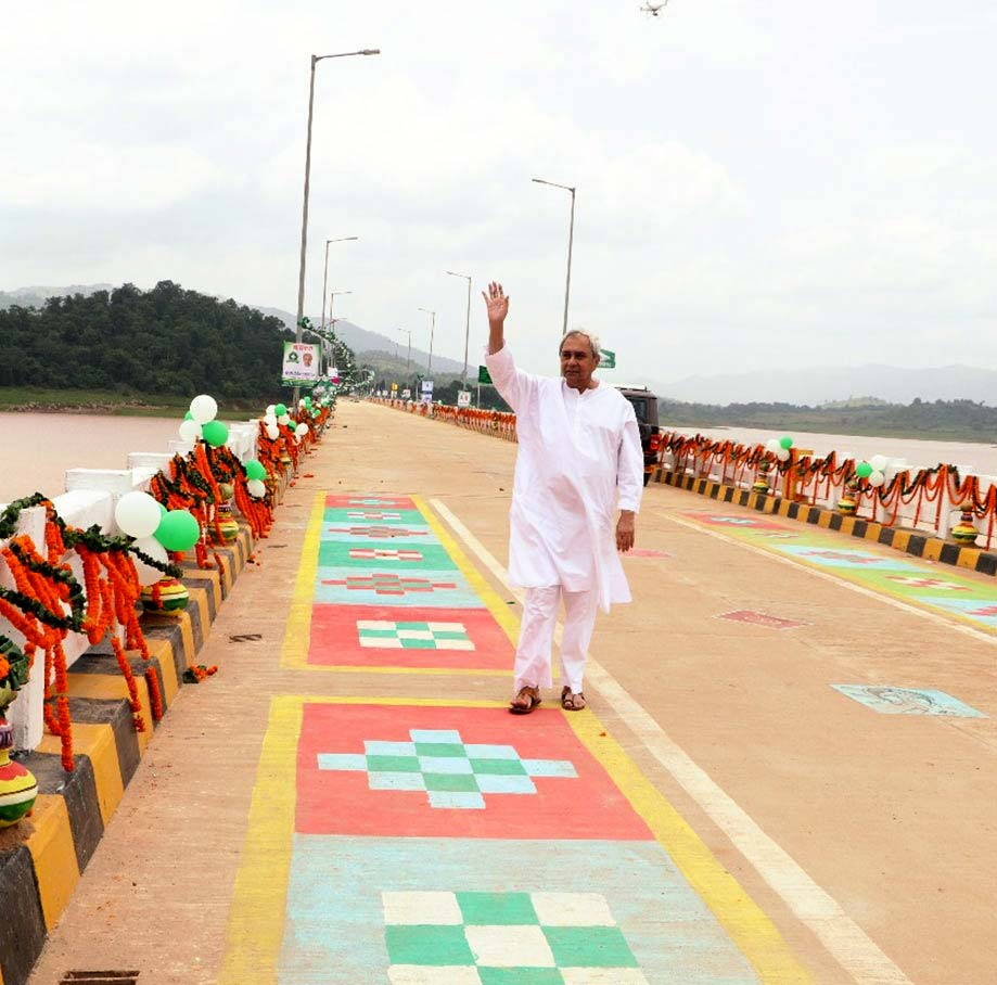 CM Shri Naveen Patnaik addressing public meeting in Nabarangpur