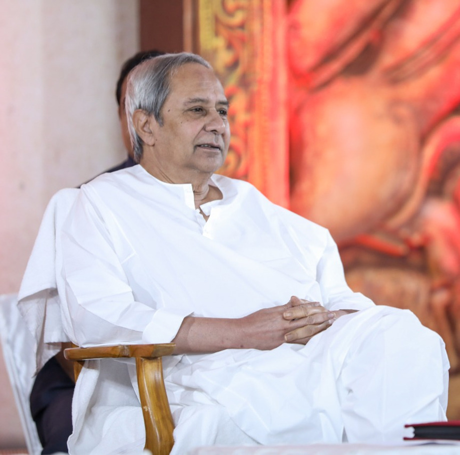 Party President Naveen Patnaik