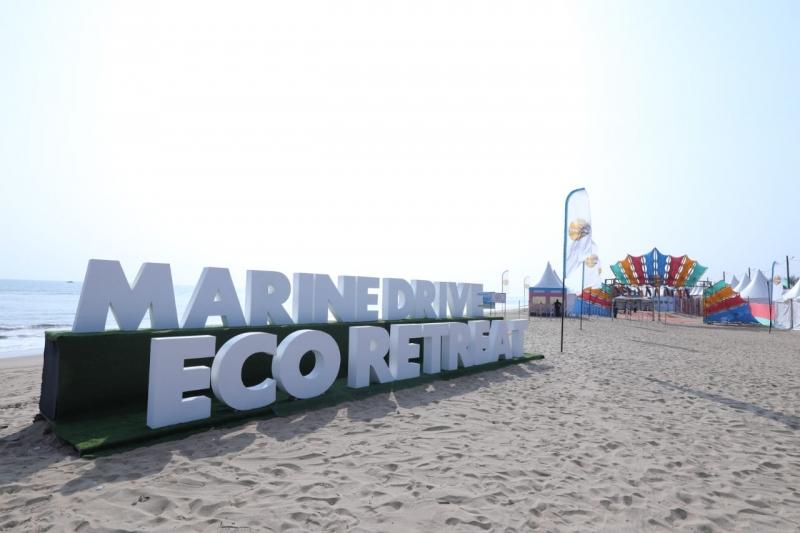 Eco-retreat event at Puri-Konark beach