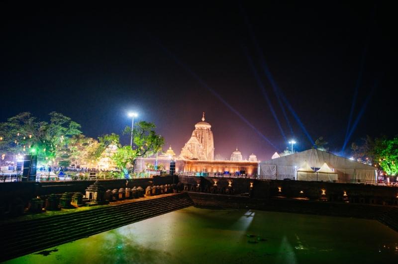 The Beauty Of Lingaraj Temple