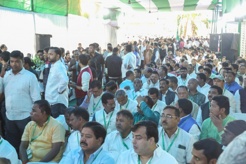 CM Naveen Patnaik was formally elected as the president of BJD for the eighth consecutive time .