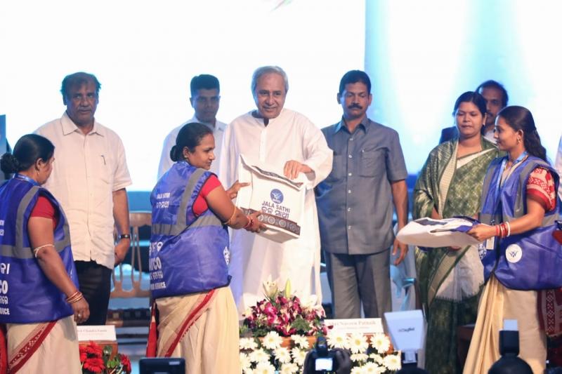 "CM Shri Naveen Patnaik launches ""Jalasathi"" programme"